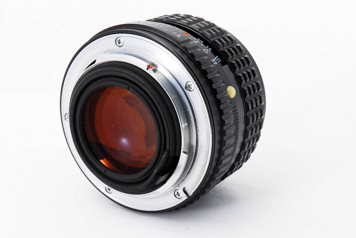 極上品】 PENTAX ペンタックス SMC 50mm F1.4_画像10