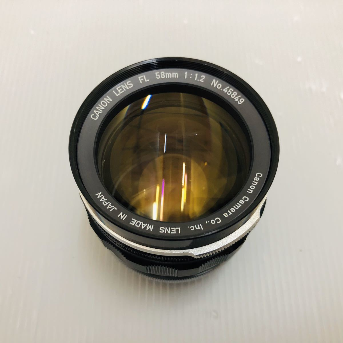 Canon Lens FL 85mm 1:1.2 No.45849