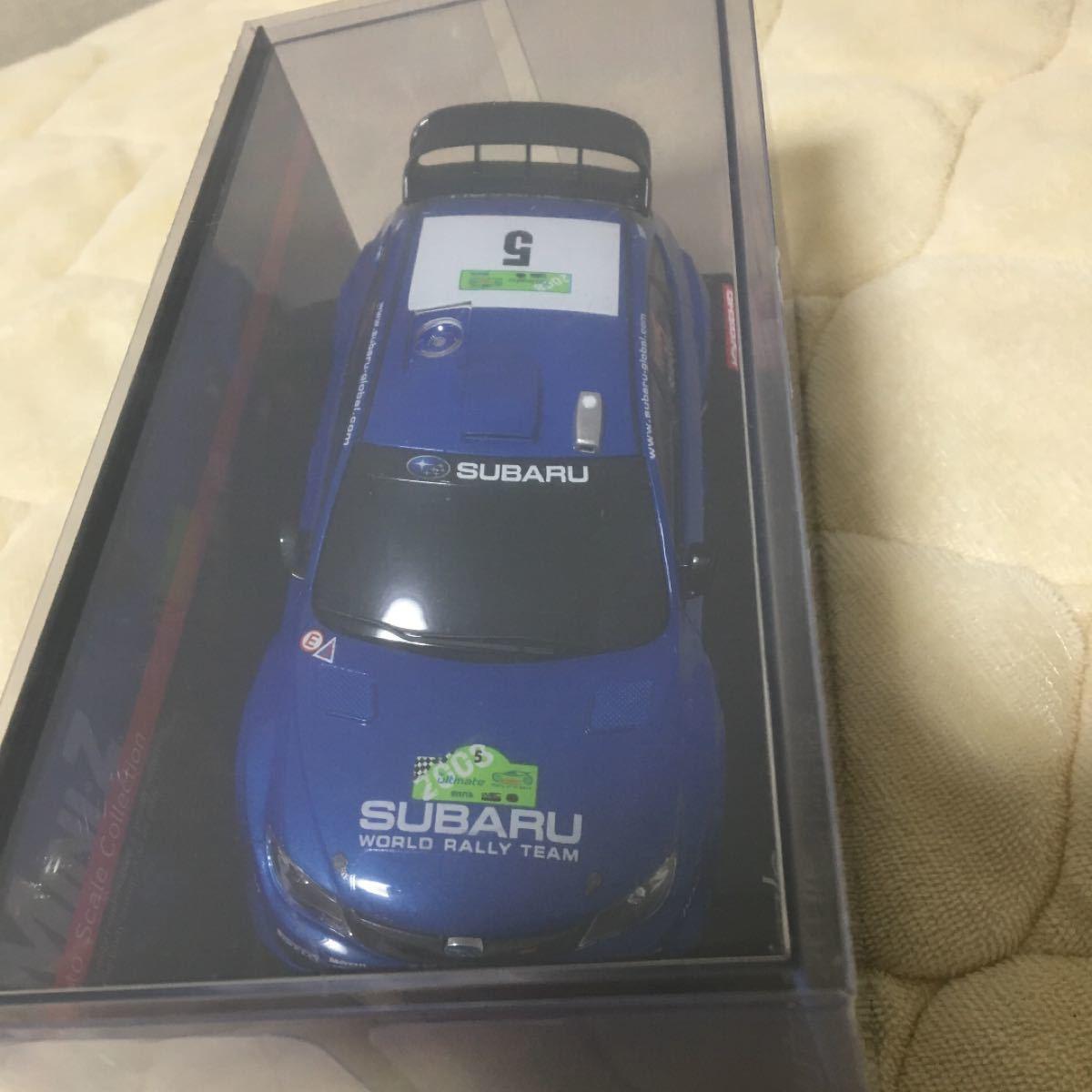 京商ミニッツ  スバルインプレッサWRC 2008No.5