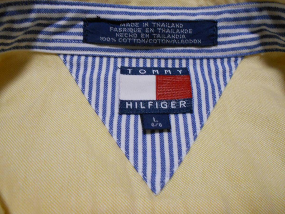 ◆トミーヒルフィガー 長袖シャツ M程度◆(5417)_画像6