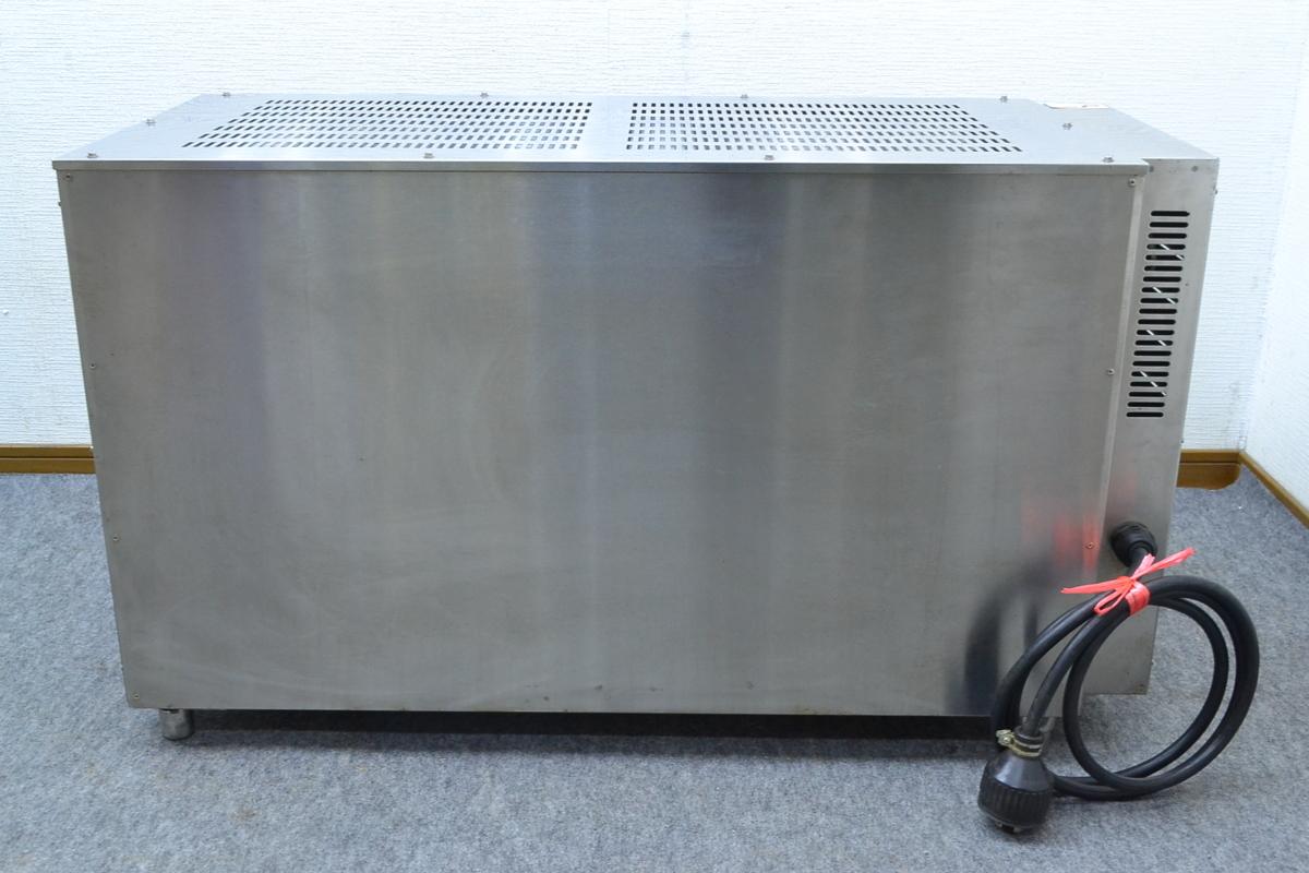 g419■ニチワ NICHIWA■上火式電気魚焼器■GNU-51■3相200V■サラマンダー_画像6