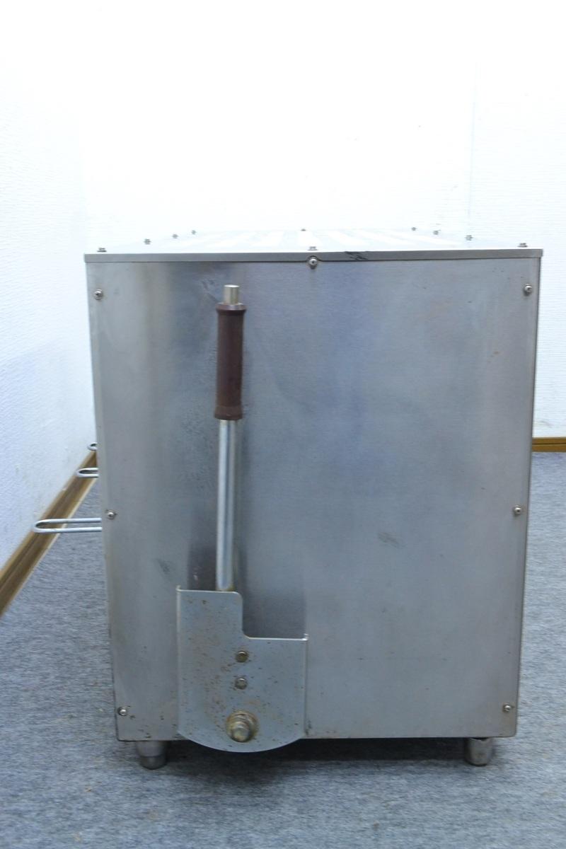 g419■ニチワ NICHIWA■上火式電気魚焼器■GNU-51■3相200V■サラマンダー_画像4