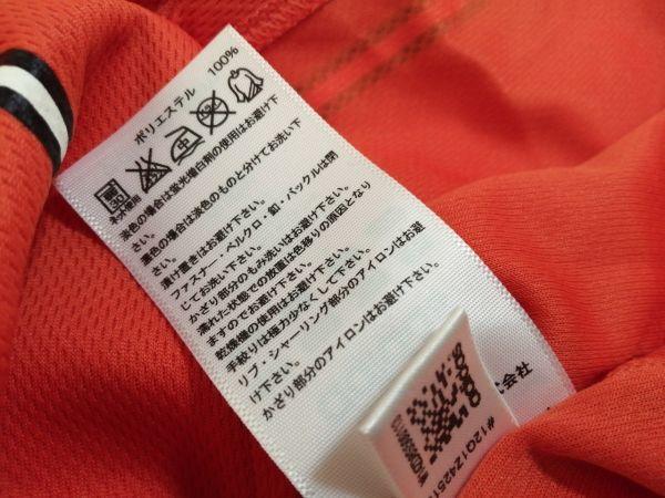kkyj3288 ■ GIANTS ■ ジャイアンツ adidas アディダス シャツ Tシャツ ユニフォーム 半袖 ドライメッシュ ベースボール 野球 オレンジ L_画像10