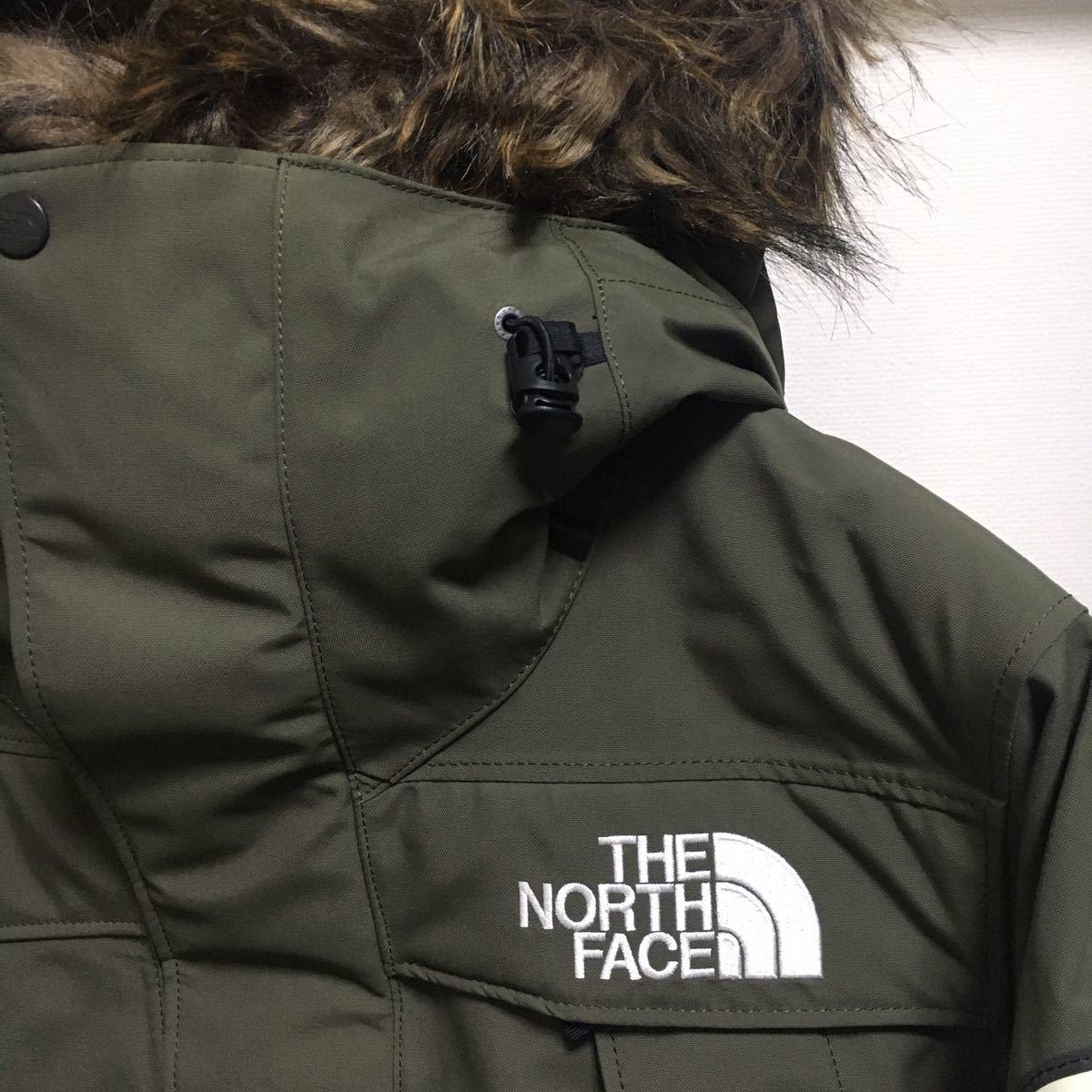 19AW 新品正規品【XSサイズ】THE NORTH FACE ノースフェイス アンタークティカパーカ ND91807 アンタークティカパーカー ニュートープ 希少_画像4