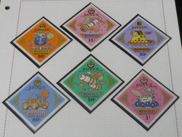 20 S モンゴル切手 1972-74年 A 札幌オリンピック冬季大会・サーカス・他 各完揃 計70種+小型シート2種・12面SL 未使用NH・VF_画像8