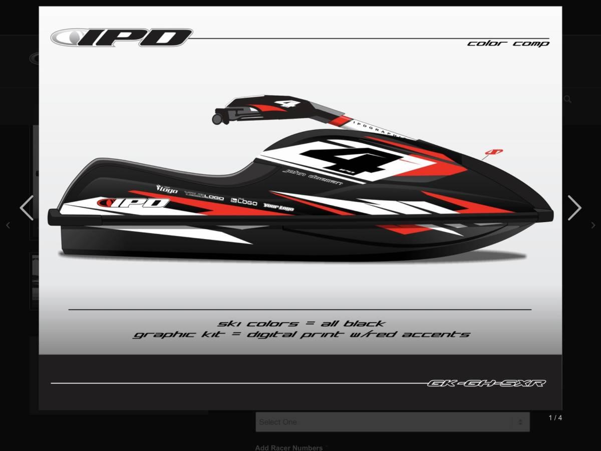 「Kawasaki SXR 800 IPD ステッカーキット」の画像3
