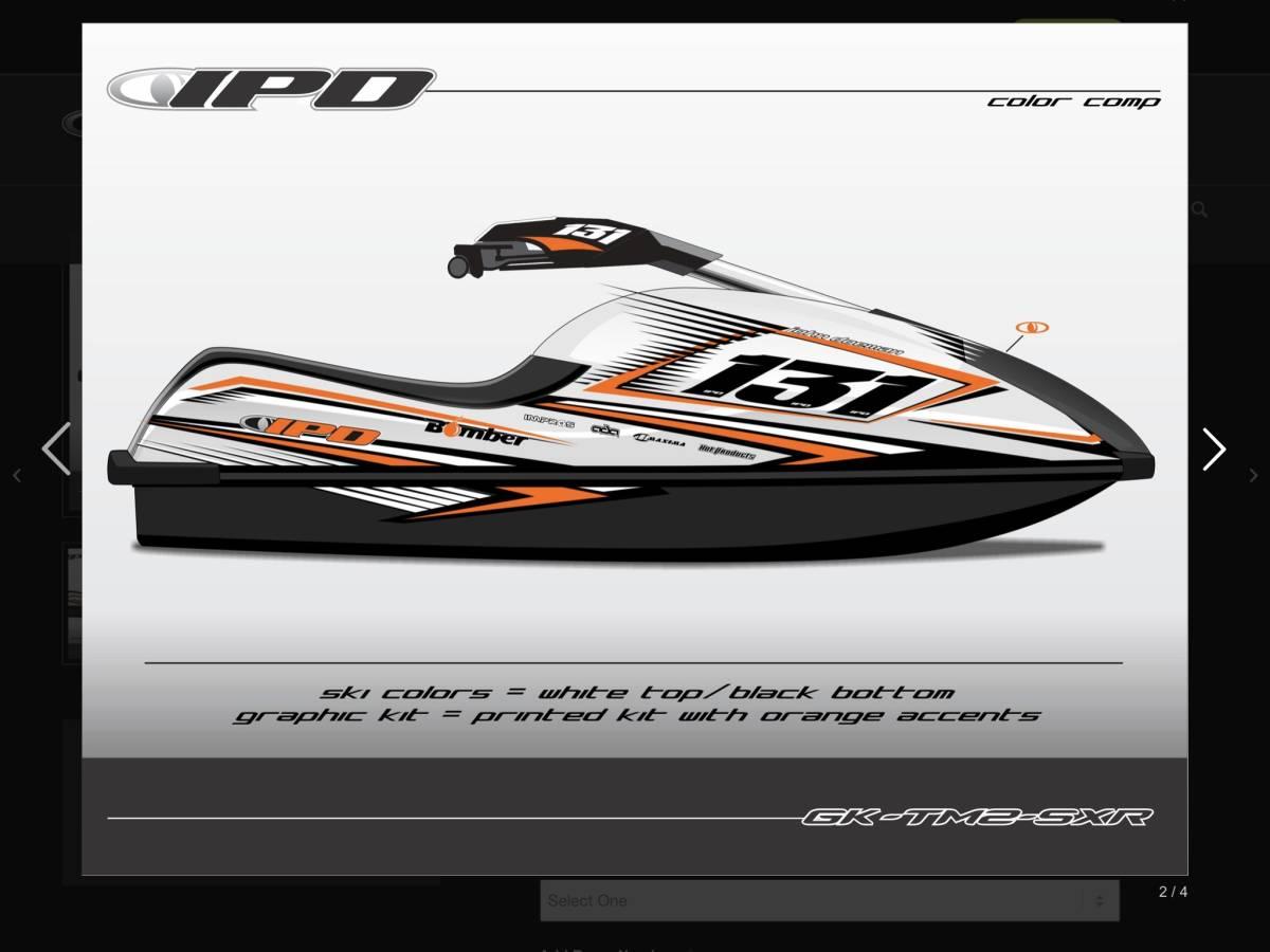 「Kawasaki SXR 800 IPD,ステッカーキット」の画像2