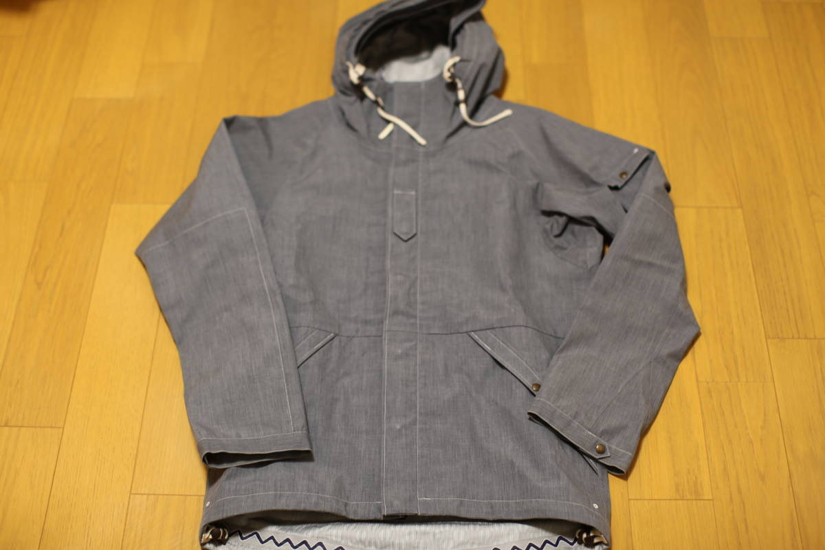 11SS visvim NOMAD JKT 3L GORE-TEX The Fusion Project限定アイテム 超希少 定価10万円 特別タグ仕様