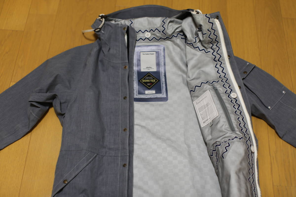 11SS visvim NOMAD JKT 3L GORE-TEX The Fusion Project限定アイテム 超希少 定価10万円 特別タグ仕様_画像5