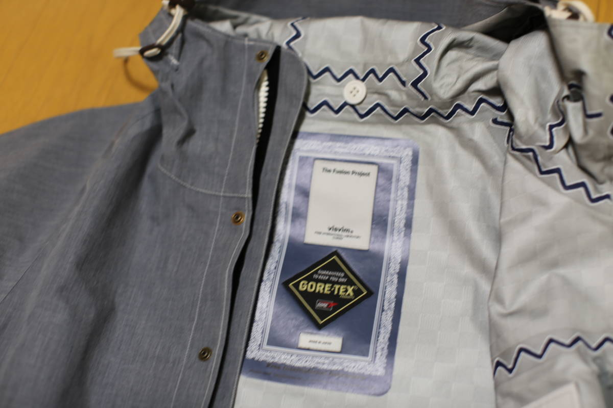 11SS visvim NOMAD JKT 3L GORE-TEX The Fusion Project限定アイテム 超希少 定価10万円 特別タグ仕様_画像6