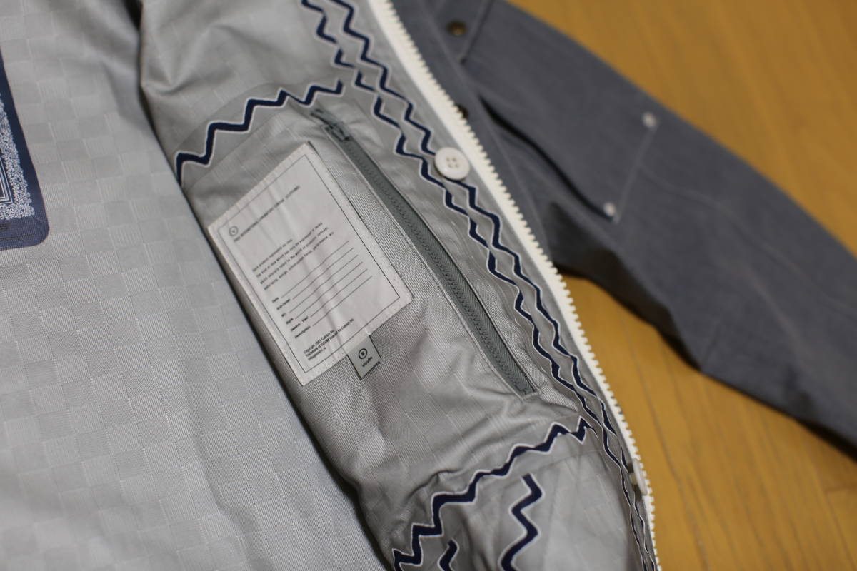 11SS visvim NOMAD JKT 3L GORE-TEX The Fusion Project限定アイテム 超希少 定価10万円 特別タグ仕様_画像7