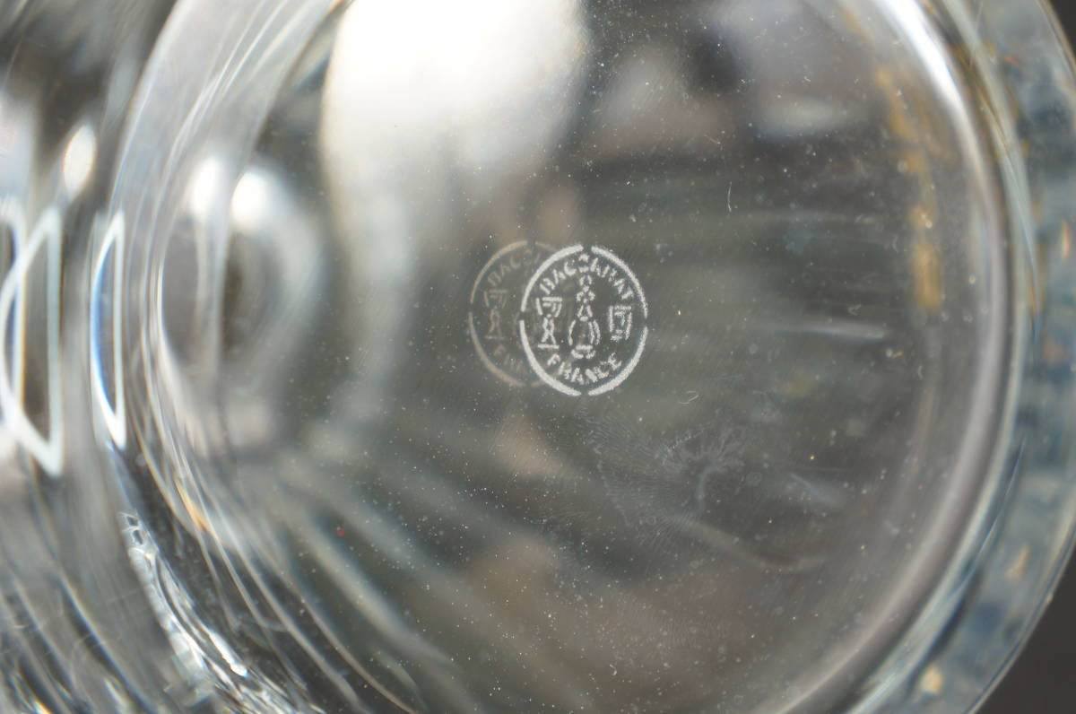バカラ カミュ 空瓶 デカンタ ボトル / baccarat CAMUS デキャンタ 空きボトル クリスタルガラス_画像7