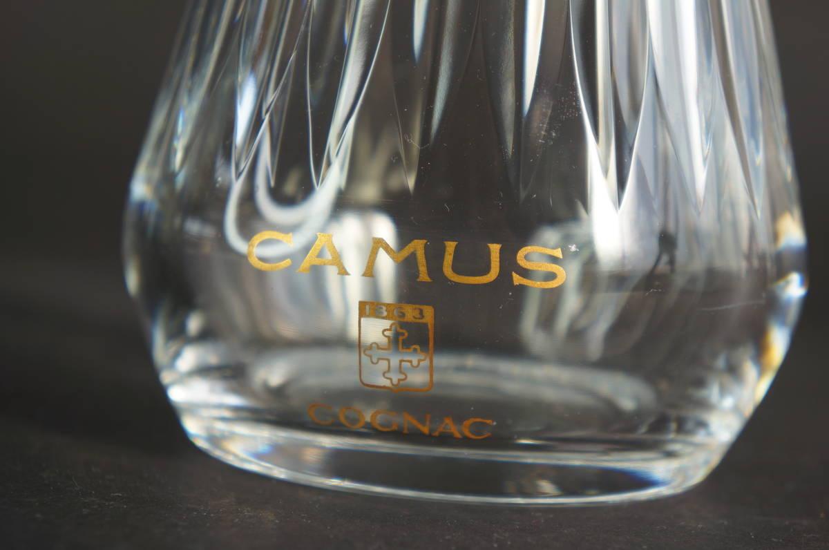 バカラ カミュ 空瓶 デカンタ ボトル / baccarat CAMUS デキャンタ 空きボトル クリスタルガラス_画像2