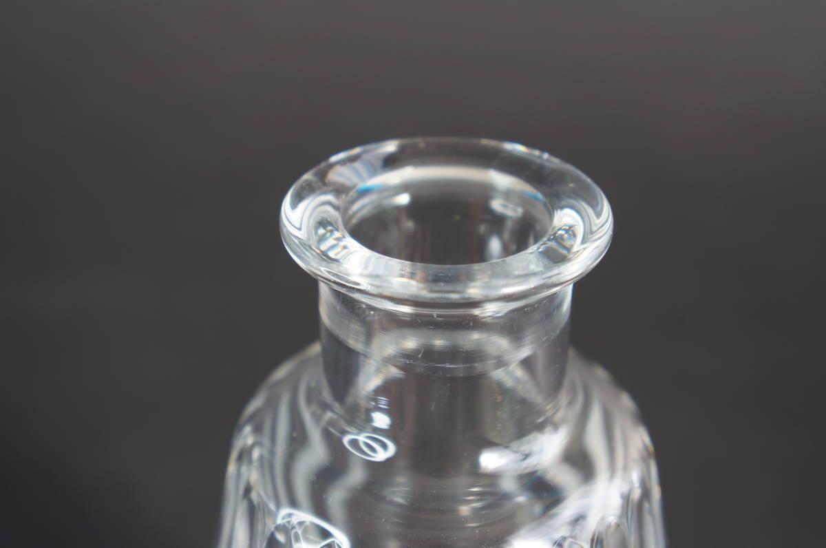 バカラ カミュ 空瓶 デカンタ ボトル / baccarat CAMUS デキャンタ 空きボトル クリスタルガラス_画像4