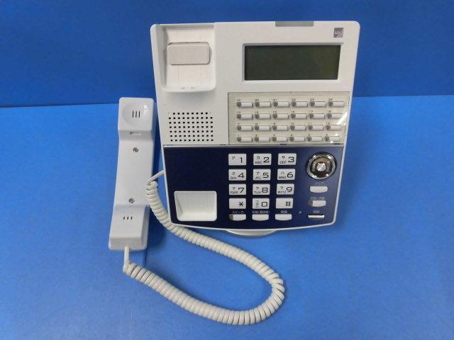 Ω ZM1 エ424) 保証有 NP320(W)(F) サクサ/SAXA IP電話機 IP NetPhone SXⅡ ACアダプタなし 18年製 キレイ 同梱可_画像2