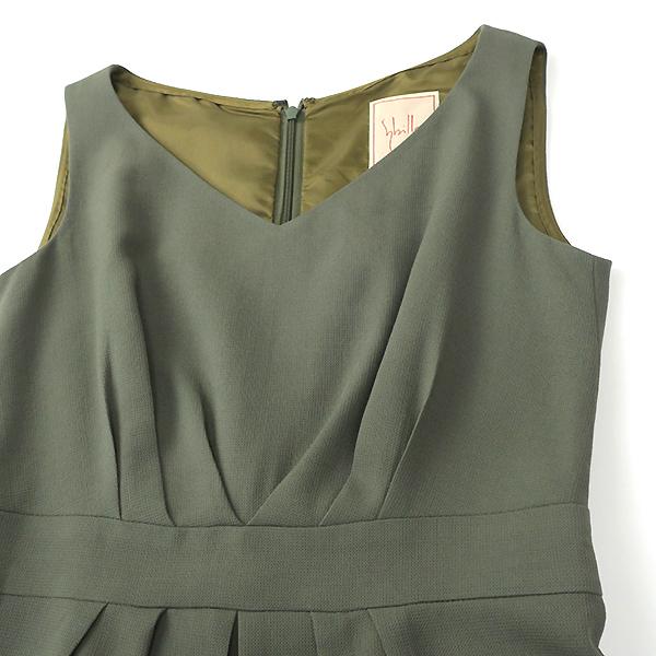 Sybilla シビラ ウール100% 7分袖ジャケット ワンピースセットアップ M-L_画像10