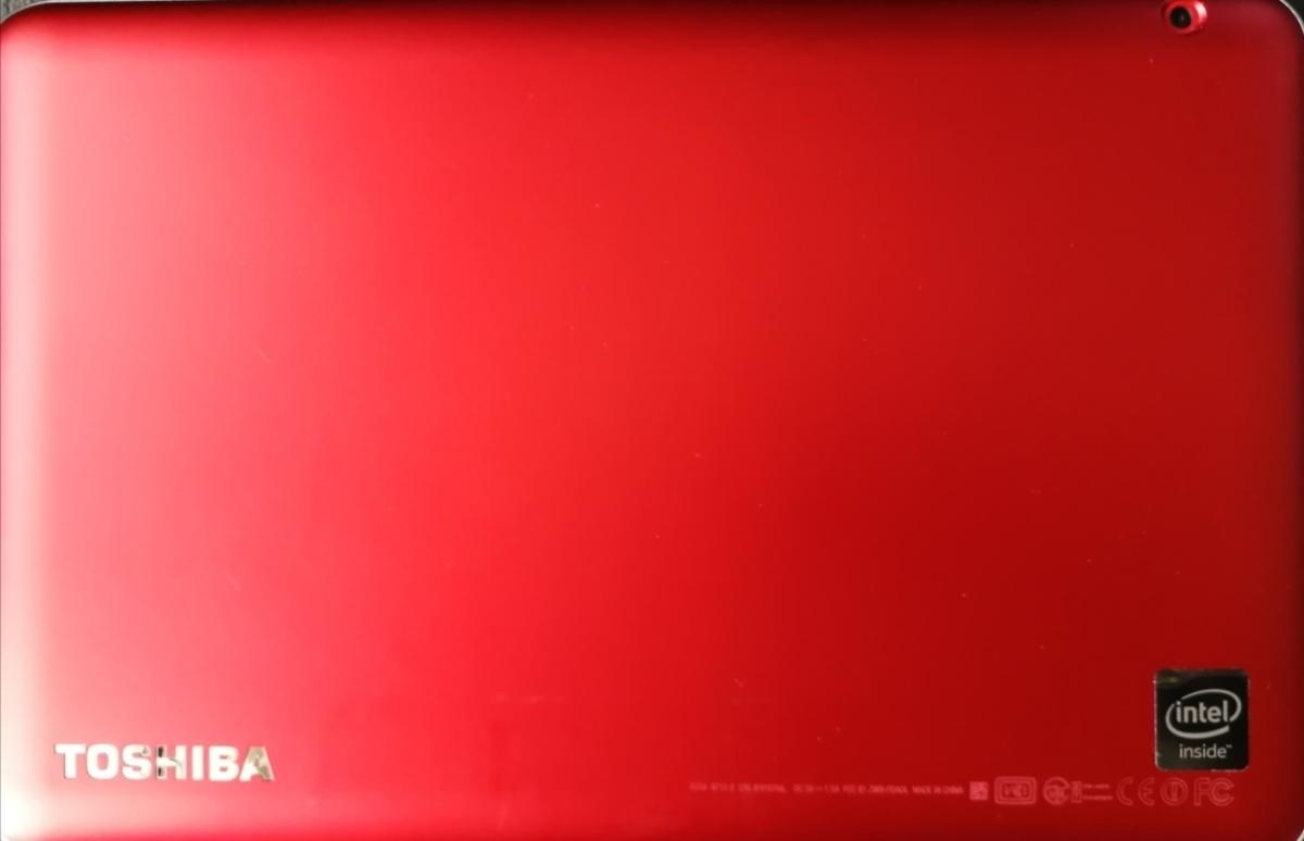 中古 TOSHIBA 10インチ タブレット A204YB レッド_画像2