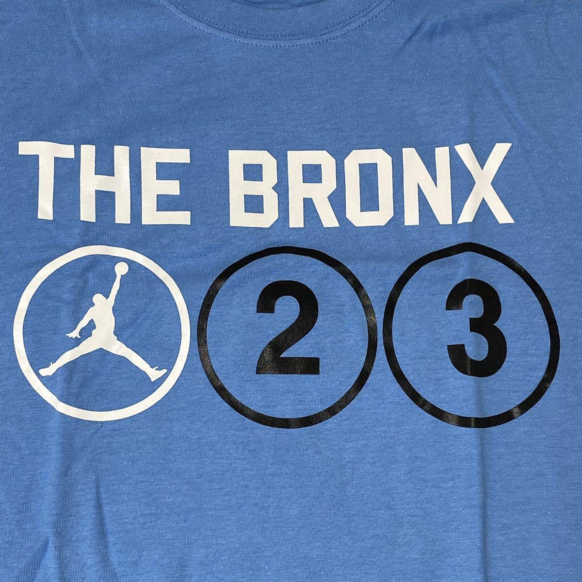 【激レア・即発送可】 NIKE AIR JORDAN NY SUBWAYモチーフTシャツ sizeM エアジョーダン 地下鉄 THE BRONX _画像1