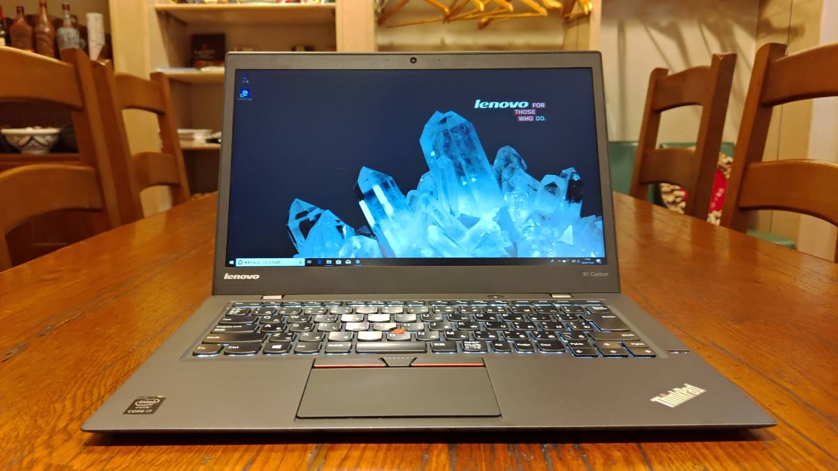 良品 上位モデル フルHD 高速SSD lenovo ThinkPad X1 Carbon 2015 Core i7-5500U 8G 新M.