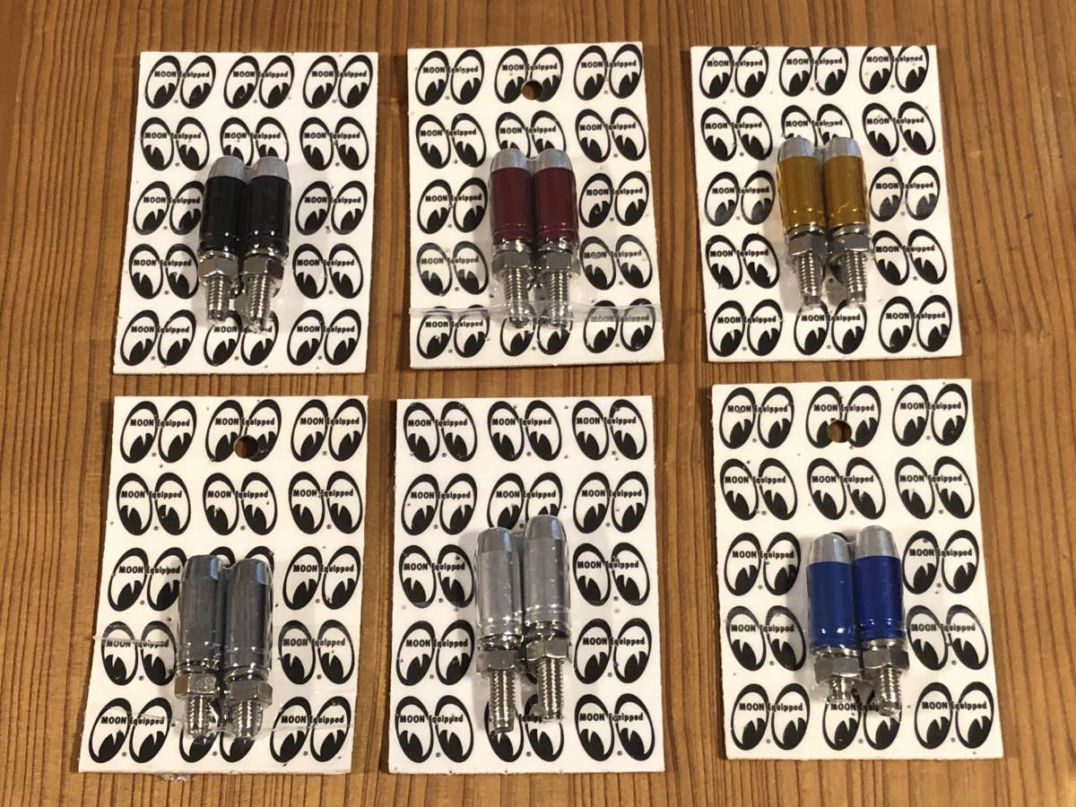 バレット ライセンスボルト 砲弾型 シルバー 普通郵便120円発送可 2個セット Bullet License Bolt mooneyes 好きのかたにも ムーンアイズ_他のカラーも出品しております。