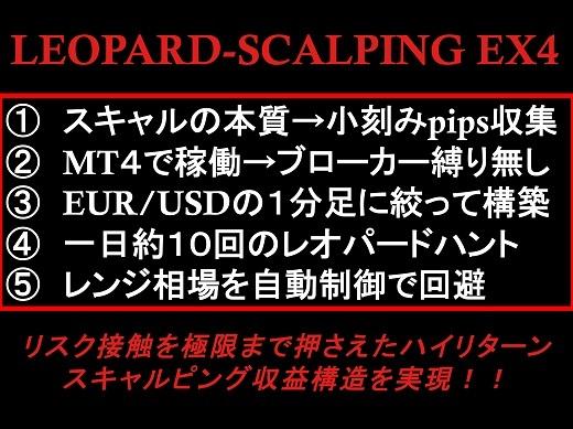 FX 2020 ★ レオパードスキャルピング ★ (検)MT4 バイナリーオプション 自動売買 EA デイトレスイング Scalping BO ハイロー ツール_画像4