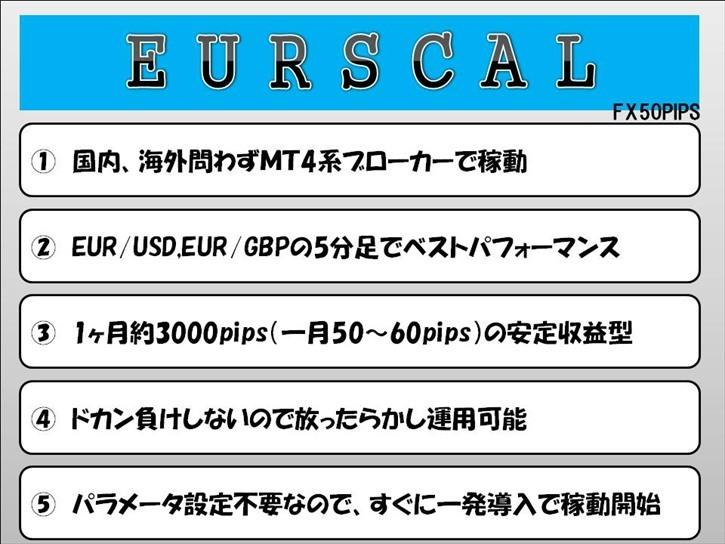 FX 2020 ★ EURSCAL ★ (検)スキャルピング MT4 バイナリーオプション 自動売買 EA デイトレスイング Scalping BO ハイロー ツール_画像4