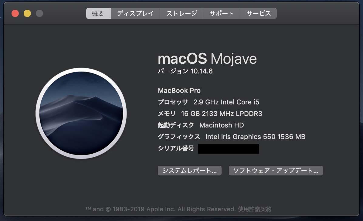 MacBook Pro 13-inch Touch Bar 2016 Silver SSD256GB MEM16GB US配列+おまけ_画像3