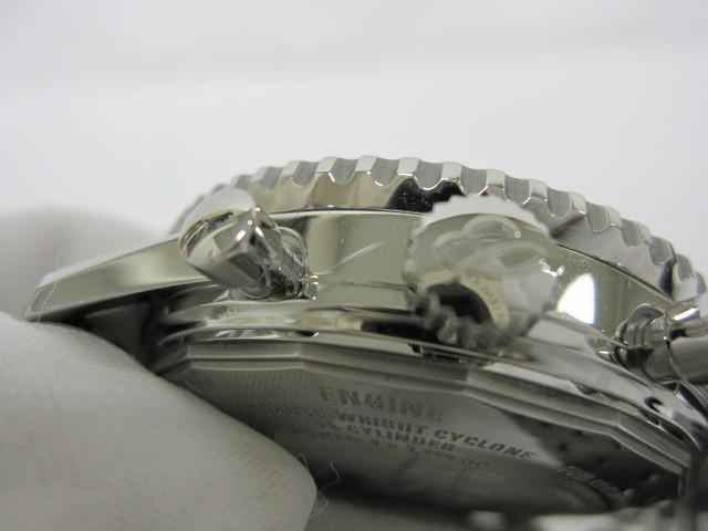 下松)BREITLING ブライトリング 腕時計 ナビタイマー スーパーコンステレーション A232BSCNP 自動巻き 世界限定 ブラック ◆FM0321_画像6