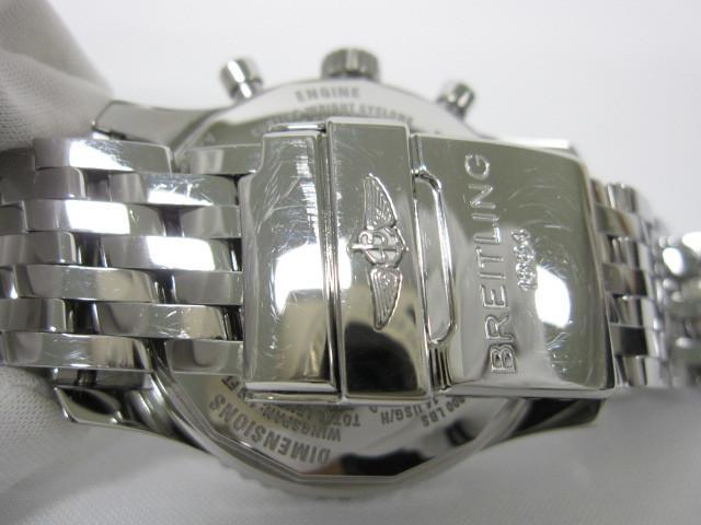 下松)BREITLING ブライトリング 腕時計 ナビタイマー スーパーコンステレーション A232BSCNP 自動巻き 世界限定 ブラック ◆FM0321_画像4