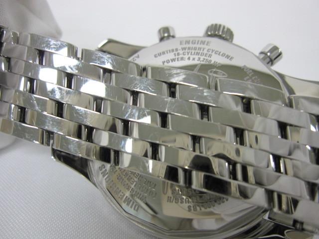 下松)BREITLING ブライトリング 腕時計 ナビタイマー スーパーコンステレーション A232BSCNP 自動巻き 世界限定 ブラック ◆FM0321_画像5