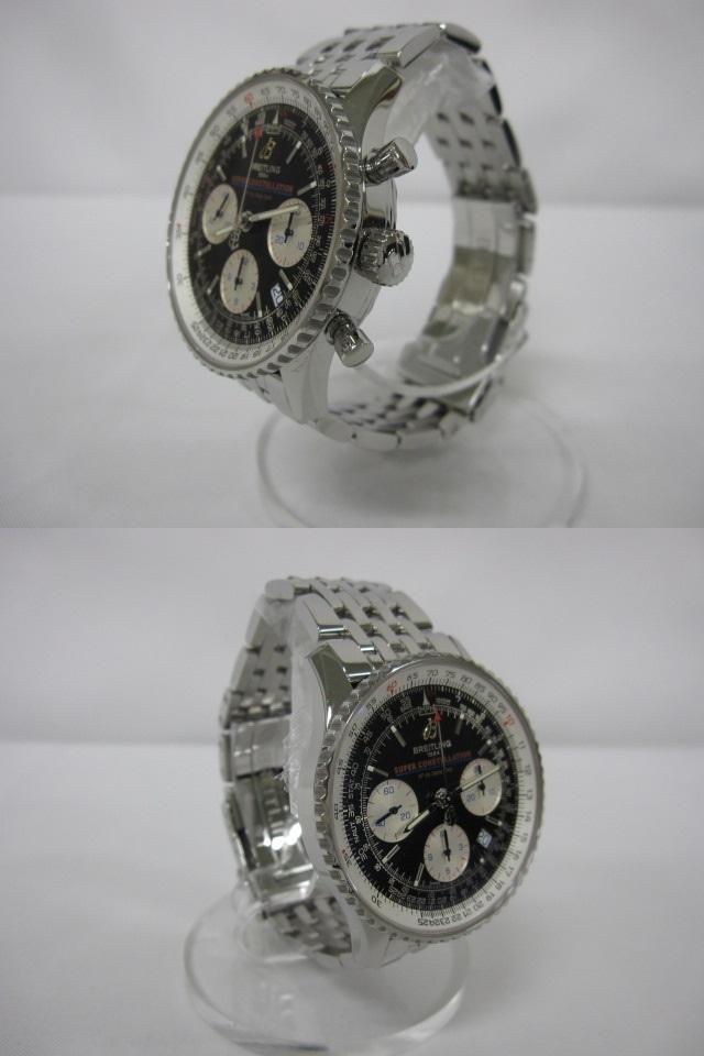 下松)BREITLING ブライトリング 腕時計 ナビタイマー スーパーコンステレーション A232BSCNP 自動巻き 世界限定 ブラック ◆FM0321_画像2