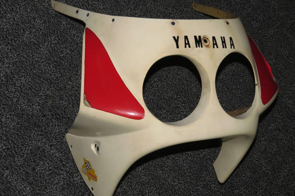 YSR50 YSR80 の 社外 FRP アッパーカウル デュアル ライト 仕様 二灯式 中古品 YSR 2AL 2GX _画像2