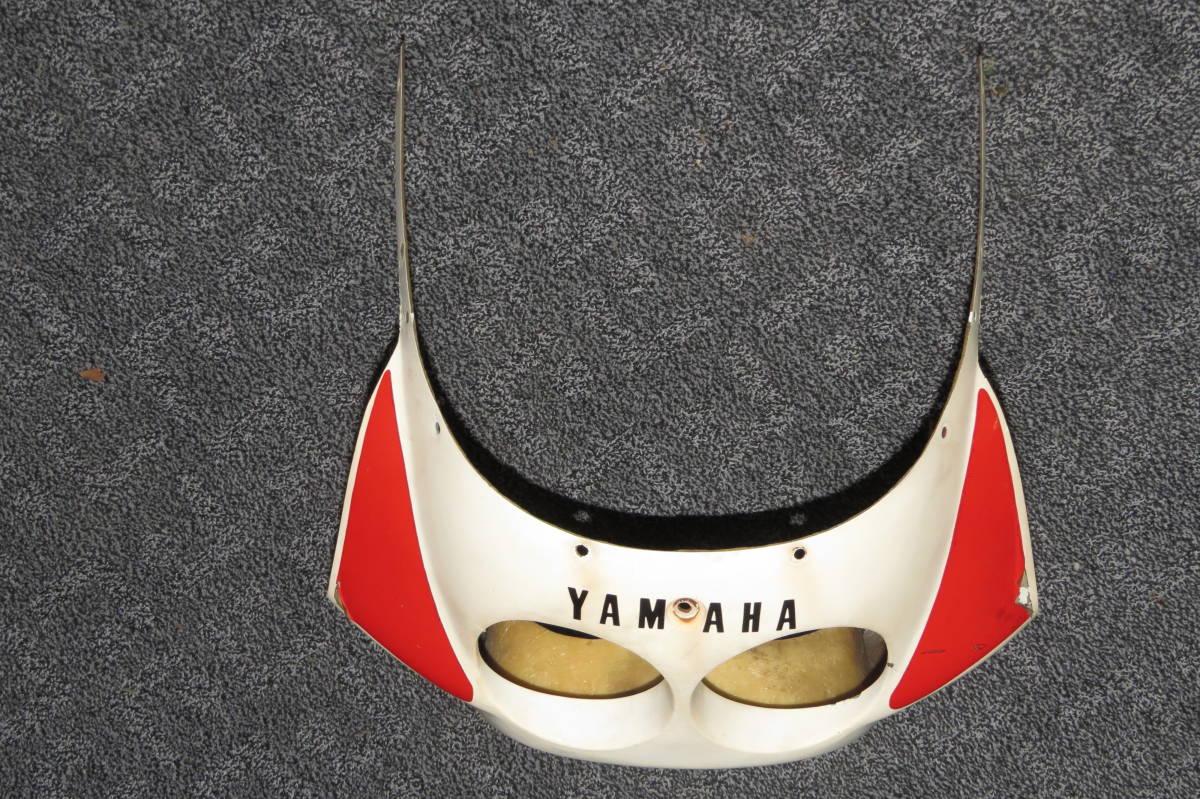 YSR50 YSR80 の 社外 FRP アッパーカウル デュアル ライト 仕様 二灯式 中古品 YSR 2AL 2GX _画像3