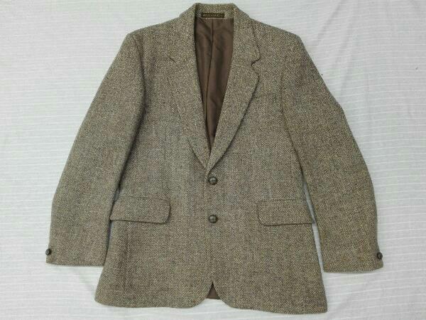 【ヴィンテージ/ジャケット】Dunn&Co ダンコー テーラードジャケット HARRIS TWEED ハリスツイード WOOL100% 英国 古着 レトロ メンズ_画像2
