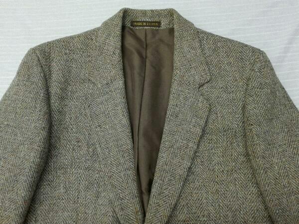 【ヴィンテージ/ジャケット】Dunn&Co ダンコー テーラードジャケット HARRIS TWEED ハリスツイード WOOL100% 英国 古着 レトロ メンズ_画像3