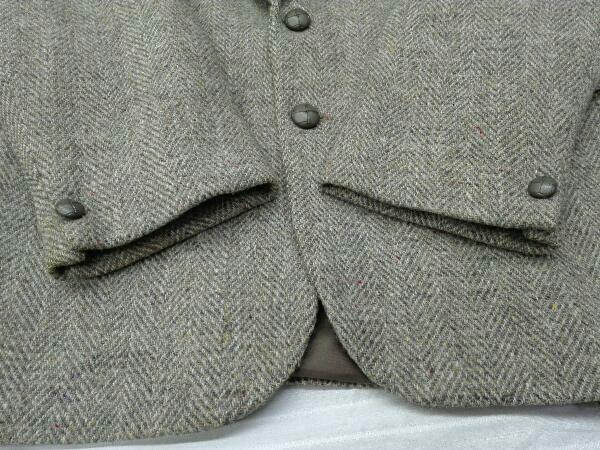 【ヴィンテージ/ジャケット】Dunn&Co ダンコー テーラードジャケット HARRIS TWEED ハリスツイード WOOL100% 英国 古着 レトロ メンズ_画像6