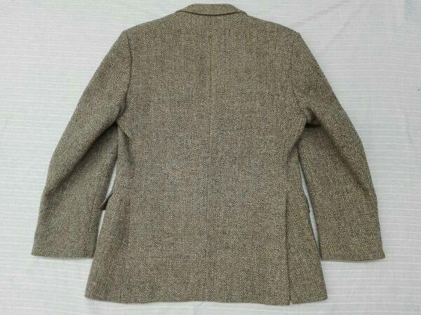 【ヴィンテージ/ジャケット】Dunn&Co ダンコー テーラードジャケット HARRIS TWEED ハリスツイード WOOL100% 英国 古着 レトロ メンズ_画像10