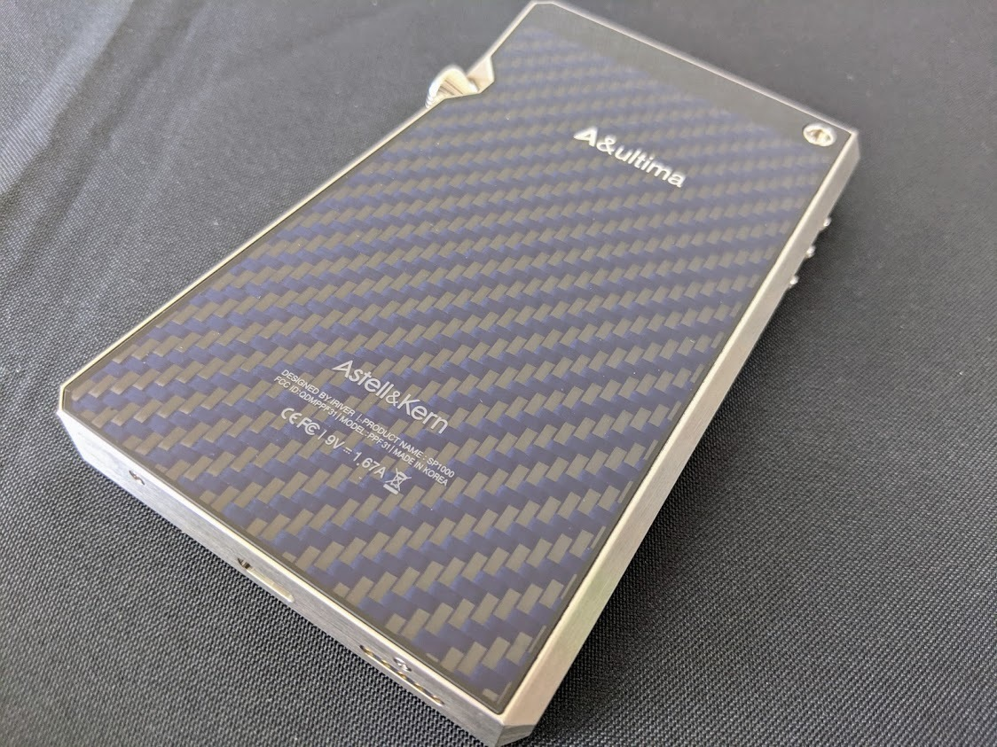 A&ultima SP1000 AK-SP1000-SS(ステンレススチール)USED 美品_画像4