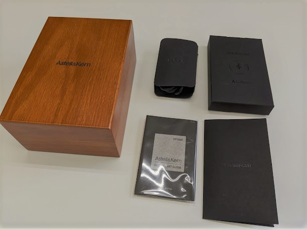 A&ultima SP1000 AK-SP1000-SS(ステンレススチール)USED 美品_画像9