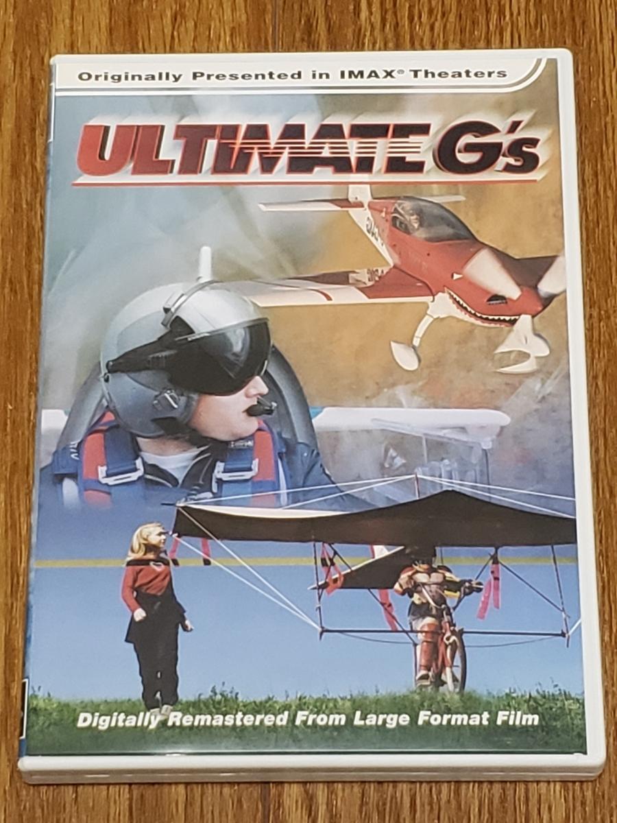 送料無料 DVD Imax / Ultimate G's Import 輸入盤 3D映像対応 セル版 非レンタル 英語 デジタルリマスター_画像1