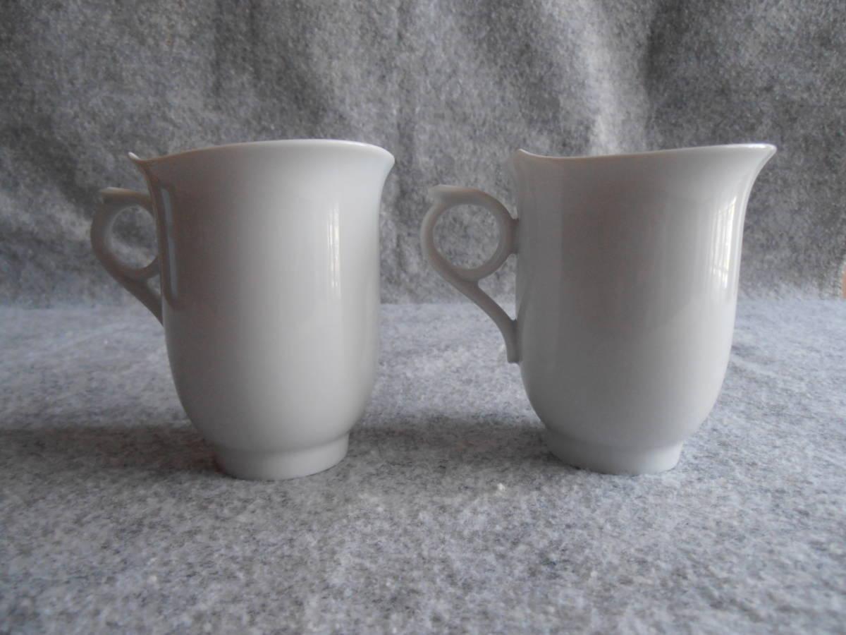 送料込 即決 マイセン Meissen マイセンマーク コーヒーカップ 825001/28572 2個セット 双剣_画像2