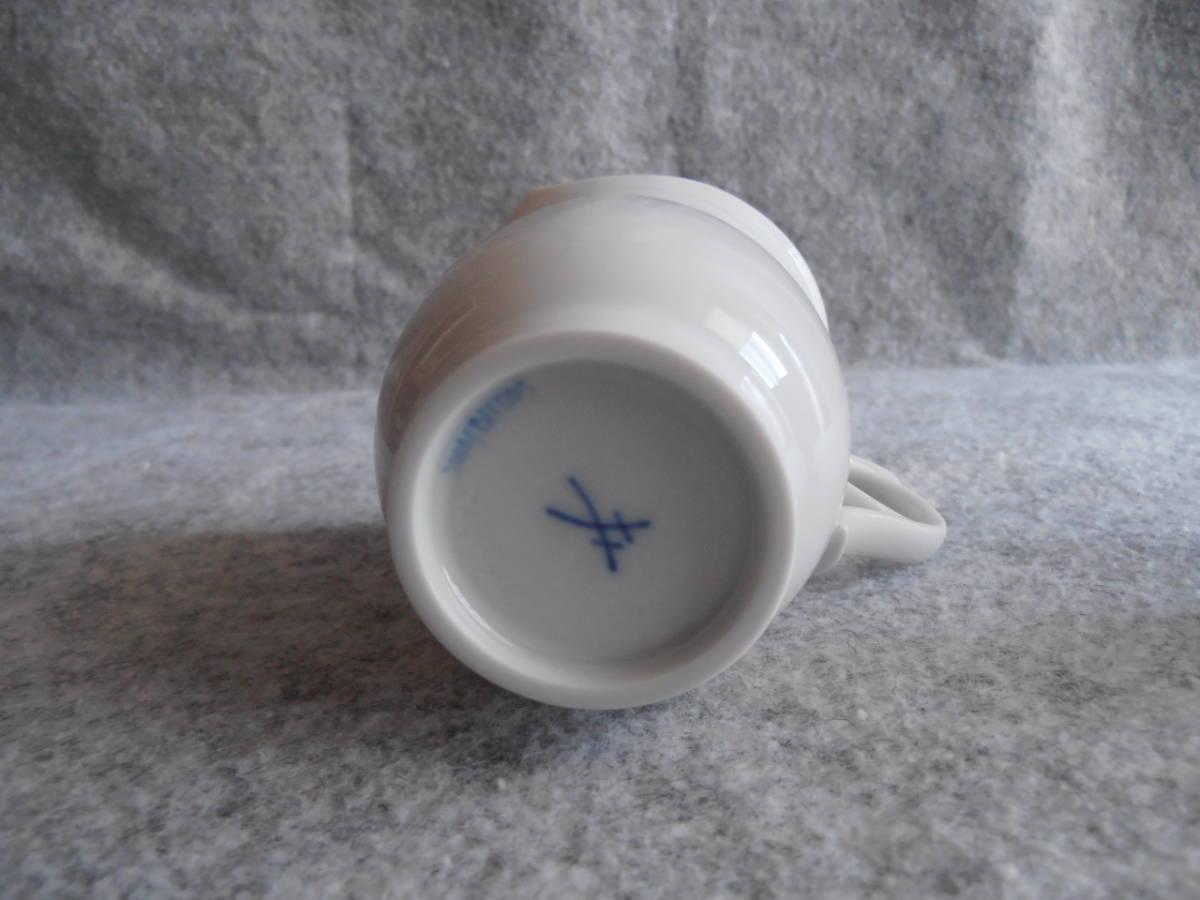 送料込 即決 マイセン Meissen マイセンマーク コーヒーカップ 825001/28572 2個セット 双剣_画像5