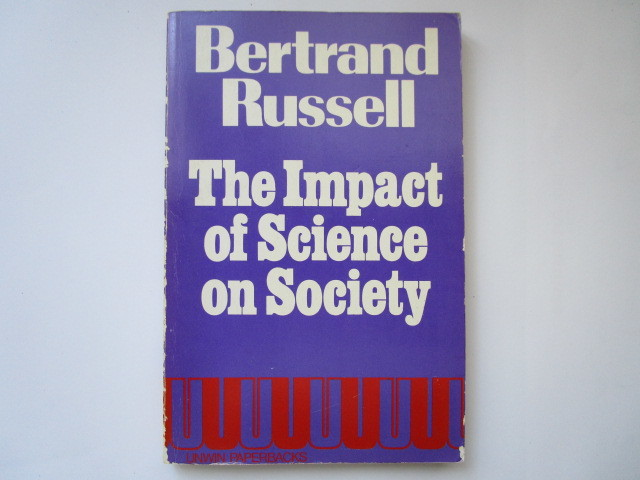 """""""The Impact of Science on Society"""" by Bertrand Russel - 洋書ペーパーバック_画像1"""
