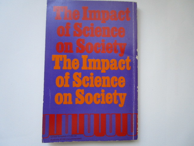 """""""The Impact of Science on Society"""" by Bertrand Russel - 洋書ペーパーバック_画像6"""