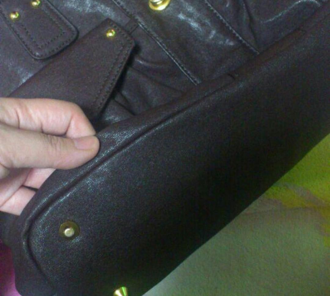 ポケットいっぱいバッグ ブラウン ショルダーバッグ/手提げ