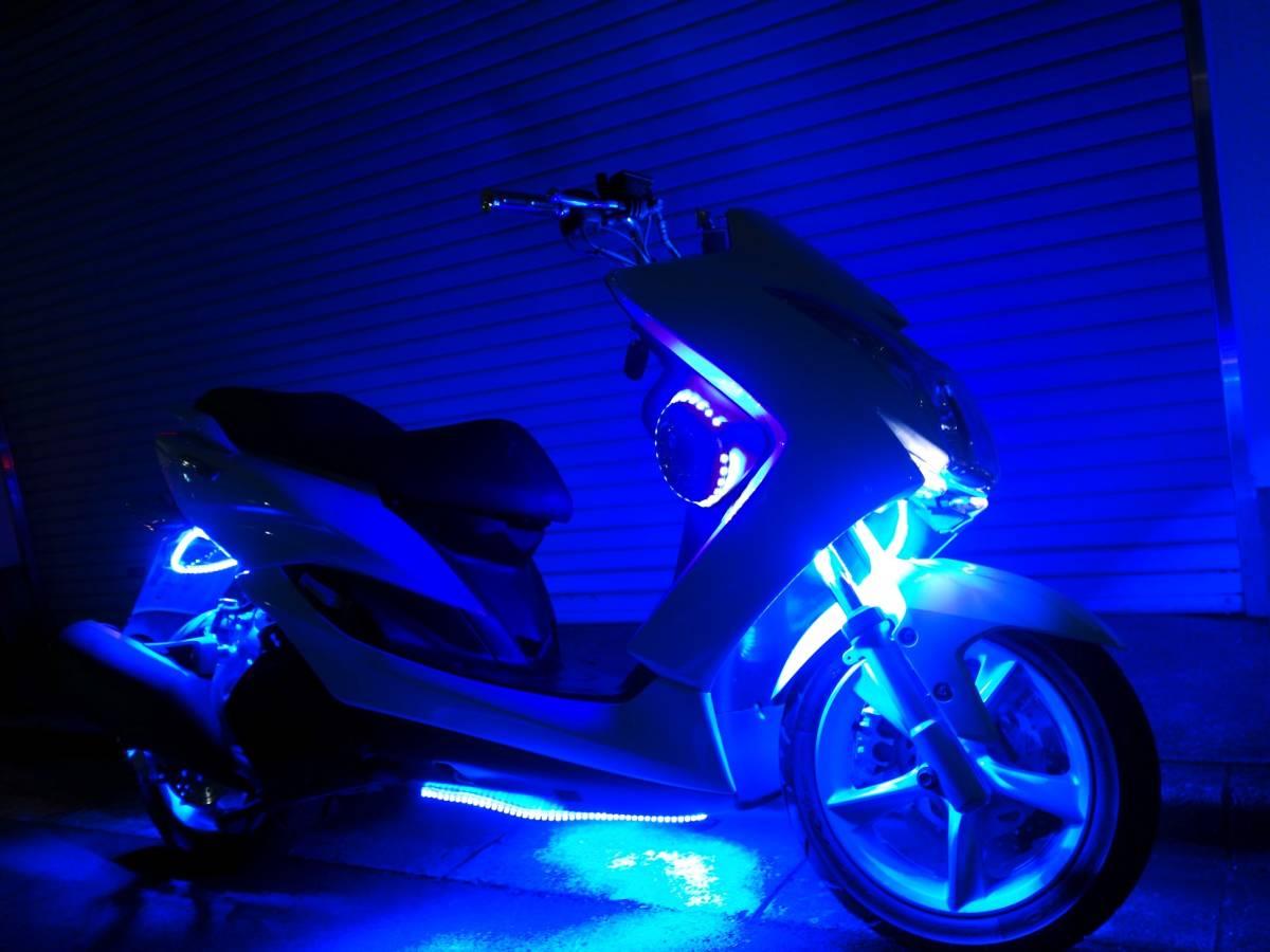 「ヤマハ マジェスティS フルブルーLED・2スピーカー マジェスティ155S」の画像1