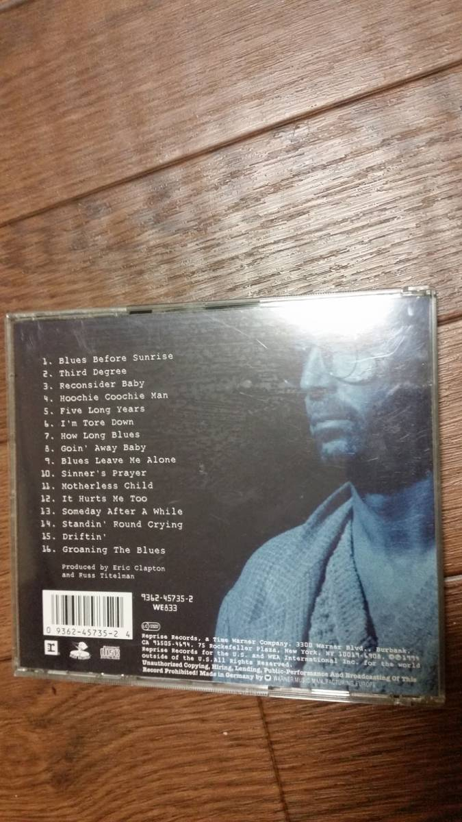 Eric Clapton / From the Cradle 輸入盤