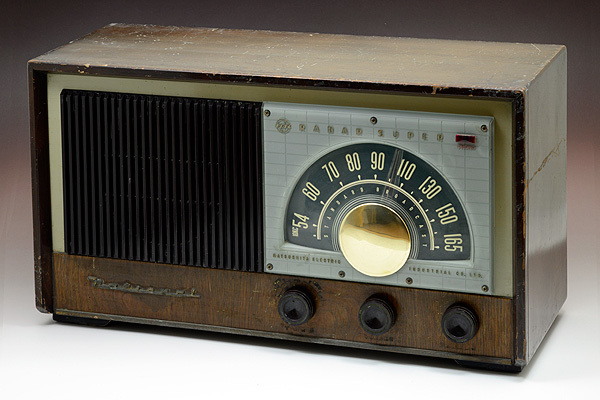 ナショナル 真空管ラジオ レーダー?#20379;`パー BL-265