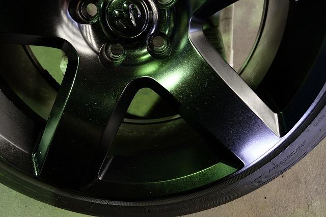 ダッジ マグナム SRT8 純正 20インチ アルミ・タイヤ4本セット (ブラック塗装)チャレンジャー チャージャー 300 300C 等_画像6