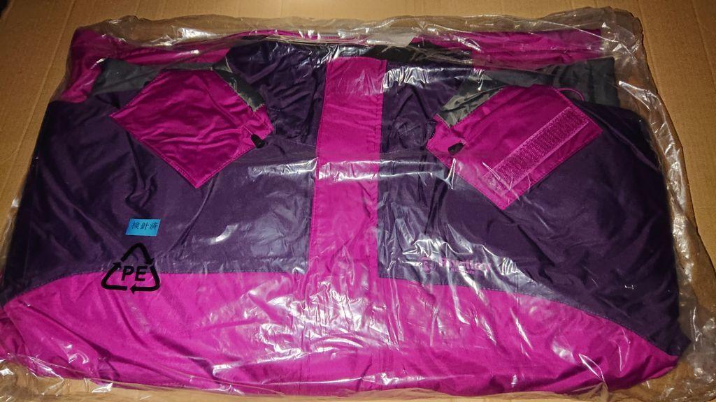 送料無料 リバレイ RL ソリッドウィンタースーツ 6361 パープル L 新品 防寒 防水 ウィンタースーツ_画像2